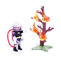 플레이모빌 소방대원과 나무(9093)