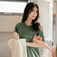 [Organic cotton] The Dog (green) - 발목양말 선물 증정