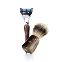 [오메가브러쉬] shaving brush SET F6600.2 (Silver Tip)