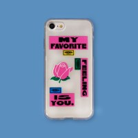 JELLY PHONE CASE_ROSE_i7/8