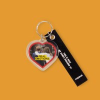 HEART KEY HOLDER_REAL EMOTIONS
