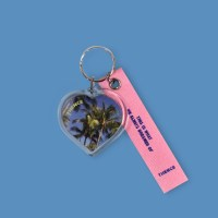 HEART KEY HOLDER_PALM TREE