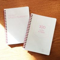 100 Days 핑크 스터디플래너 2종