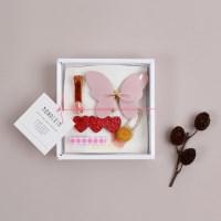 [조카선물]반짝반짝 헤어핀 5종세트/소녀팩