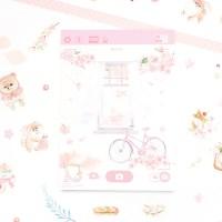 마넷 체크/투두 리스트 - 벚꽃 포메 (자전거)
