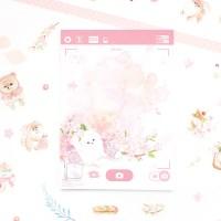 마넷 체크/투두 리스트 - 벚꽃 포메 (스니커즈)