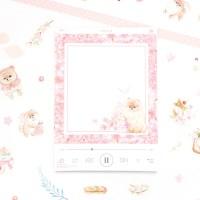 마넷 체크/투두 리스트 - 벚꽃 포메 (우유 노래)