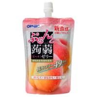 오리히로 푸룬토 곤약젤리 130g : 복숭아맛 24팩묶음