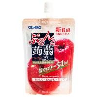 오리히로 푸룬토 곤약젤리 사과맛 130g 24팩 묶음