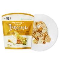 채소 튀각 호박 크런치25g x 4봉+1봉_(789020)