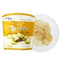 채소 튀각 감자 크런치25g 4봉+1봉_(789019)