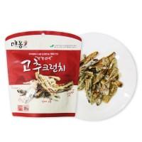 채소 튀각 고추 크런치25g 4봉+1봉_(789018)