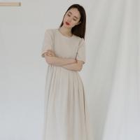 [치즈달] 오가닉 퍼프 드레스