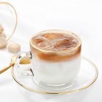 매일리 골드 심플 커피컵