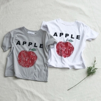 애플 반팔 티셔츠