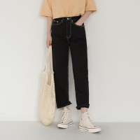 basic cotton stitch pants
