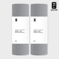 [생활공작소] 일회용 수세미 60매x2개_(658577)