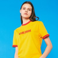 GRISH LOGO t-shirts (YELLOW)