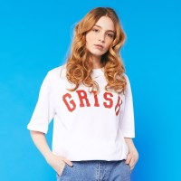GRISH Signature t-shirts (WHITE)