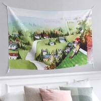 패브릭 포스터(대)-앤의 마을