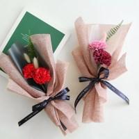 비누카네이션 허니테일꽃다발 [2color]_(575803)