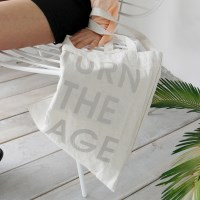The page cotton bag