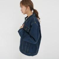 Standard fit denim jacket