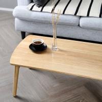 고무나무 원목 접이식 사각 테이블 780