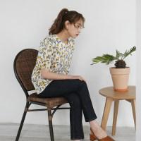 Tulip puff blouse