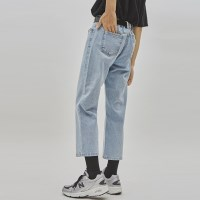 neat straight denim pants - UNISEX_(929049)