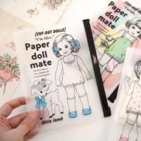 paper doll mate clear pouch.S__ver2