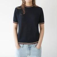 Color line cool half knit
