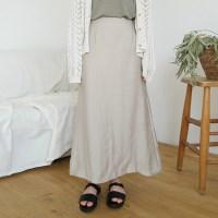 Lounge flare long skirt
