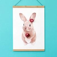 플라워포켓 토끼
