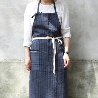 linen stripe apron _ 2 color