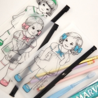 paper doll mate clear pouch.P__ver2