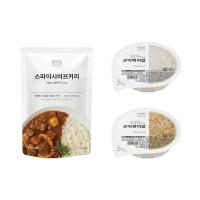 [텐텐단독]스파이시비프 커리 5개+곤약밥 5개