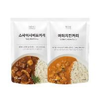 [텐텐단독] 프리미엄 커리 2종 체험팩(각 맛 5개, 총 10개입)