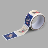 Masking tape : stamp - 14 Animal musicians