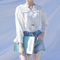 Tassel blouse