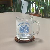 choose happy glasscup