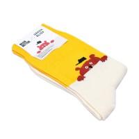 [Organic cotton] BEAR BETTER yellow