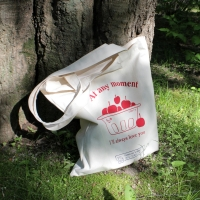 cherry basket bag