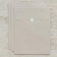 기프트 봉투 베이지브라운 A4 - 3매