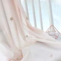핑크플라워 자수 커튼 (2color)_(836845)
