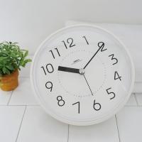 하루 욕실 방수 흡착 시계 (4color)