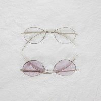 [치즈달] 오발 프레임 안경