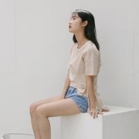 [치즈달] 랩 벨트 코튼 블라우스