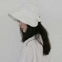 [치즈달] 백 리본 버킷 햇