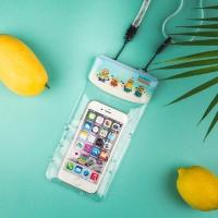[1+1]미니언즈 스마트폰 캐릭터 5인치 방수팩